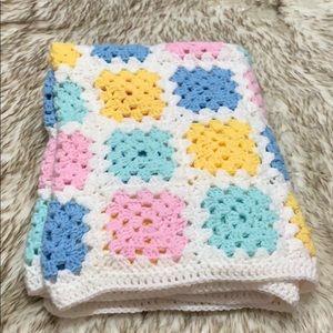 Crochet Baby Blanket - Handmade